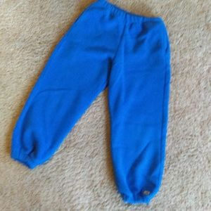 Cozy warm EMS kids fleece pants